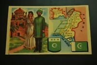 Vintage Cigarettes Card. PAKISTAN. REGIONS OF THE WORLD COLLECTION