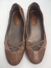 Cole Haan Leather Suede Walking Slip-On Loafers Flats Beige Nude Women's 6 B