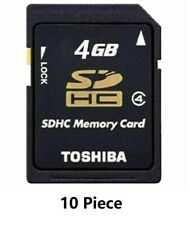 10PCS SanDisk Genuine SD 4GB SDHC memory card Digital Genuine Memory Card