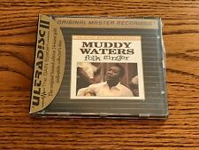 MUDDY WATERS FOLK SINGER MFSL 24 KARAT GOLD CD ~ STILL FACTORY SEALED!