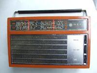 VINTAGE  AWA RADIOLA  LARGE TRANSISTOR 8 RADIO WORK1960's
