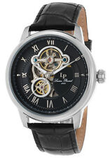 Lucien Piccard Optima Automatic Mens Open Heart Watch LP-12524-01