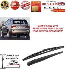 Rear Wiper Arm Wiper Blade Car Rear Windshield Window Windscreen Wiper Arm With Blade Complete Set for X3 E83 03-10
