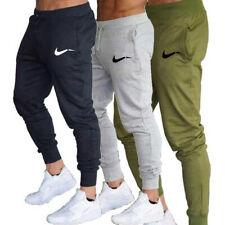 Mens Fitness Sweatpants Track Trousers Bottoms Sports Pants Training Gym Jogging