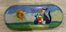 New listing Rosina Wachtmeister Momenti Glasses Eyeglass Cleaning Cloth Set Cats Naive Art