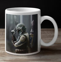 Star Wars BOBA FETT coffee mug gift art print - fan gift - birthdays etc 11oz