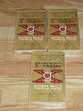 3 - 1994 GENERATION EXTREME Sports Cards Sealed Boxes