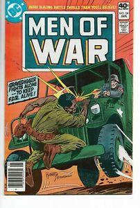 MEN OF WAR #24 DC Comics GRAVEDIGGER FIGHTS ALONG Joe Kubert 1980 VF