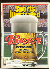 August 8 1988 Beer Sports Games Sports Illustrated Magazine Vintage OLD