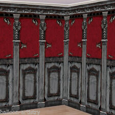 Gothic Halloween Scene Setter HAUNTED MANSION Room Roll Decoration Set