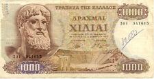 GRECE GREECE 1000 drachmes 1970 état voir scan 9416615