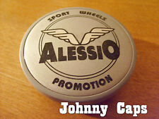 Alessio Wheels Silver Center Caps #CP A Alessio Custom Wheel Center Cap (1)