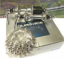 Shimano Dura Ace 7400 6-speed hubset with 13-23 cassette new in box