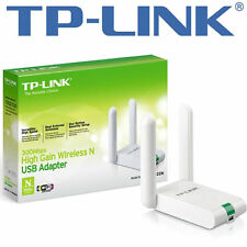 Tp-link tlwn 822n High-Gain wlan adaptateur usb - 2,4ghz, 802.11b/g/n, qss-touche