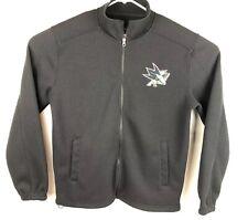 Men's G-III Sports by Carl Banks Black San Jose Sharks Audible Full-Zip Jacket