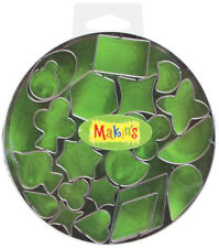 Makin's Clay Cutters 22/Pkg-Geometric