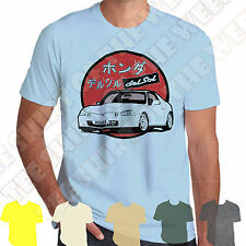 Honda Del Sol CRX Mens T-shirt Personalised plate option +7 colours of Tee