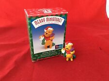 Hallmark Merry Miniatures Winnie Christmas at Winnie the Pooh's House 2nd