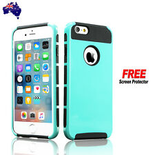 iPhone 6 6s Hybrid Heavy Duty Shockproof Rubber Hard Tough Case Cover for Apple