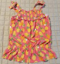 Gymboree aloha sunshine pineapple smocked top   Size 7 8 9  10  NWT 2012