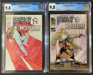 Deathblow & Wolverine #1-2 complete set CGC 9.8 (1996/1997) - Consecutive Cert #