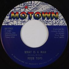 FOUR TOPS: What is a Man / Don't Bring Back Memories MOTOWN Soul 45 VG++