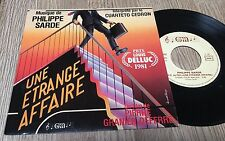 45 tours BOF Une étrange affaire Philippe Sarde Cuarteto cedron Granier-Deferre
