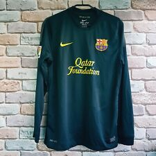 Barcelona 2011 2012 away long sleeve shirt jersey size M