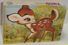 Vintage TUCO BAMBI PUZZLE 30 Extra Large Triple Thick Pieces-USA-NEW SEALED-Mint