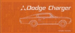 DODGE 1967 Charger Owner's Manual 67