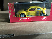 NINCO RENAULT MEGANE COPA NO 4 YELLOW REF 50147