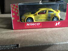 NINCO RENAULT MEGANE COPA No 4 amarillo ref 50147