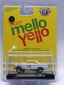 M2 A03 1/64 scale 1967 Nova Gasser Mello Yello Coke GOLD 1 of 750 CHASE MIB VHTF