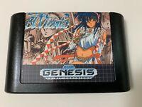 El Viento English Translation Region Free Re-pro Sega Genesis Video Game Cart