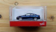 Herpa 038669-002 - 1/87 Audi A5 Coupe - Scubablau Metallic - Neu