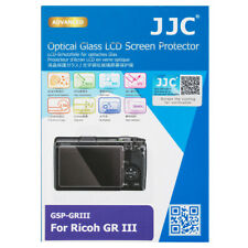 JJC Optical Glass LCD Screen Protector Film for RICOH GR III GR3 Camera