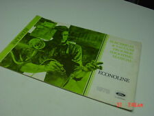 Old Ford 1978 Econoline Electrical & Vacuum Troubleshooting Manual Vehicle Aid