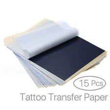 Tattoo Stencil Transfer Kits Carbon Tracing Paper Ink Professional 15 Sheets A4