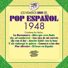 LOS NUM.1 DEL POP ESPAÑOL 1948 -2CD