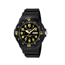 Casio MRW-200H-9BVDF Black Resin Strap Watch for Men