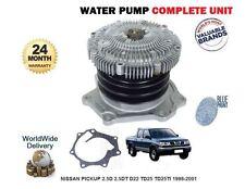 Pour Nissan D22 Pickup 2.5 D 2.5 TD 1998-2001 pompe à eau 21010-3s926 21010-3s925