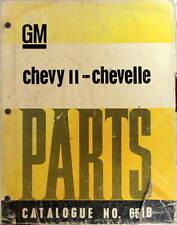 1962-1965 CHEVROLET CHEVY II CHEVELLE PARTS ACCESSORIES CATALOG PIECES DETACHEES