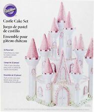 Wilton Castle Cake Tin Set 32 Pieces - Romantic - Princess King Theme