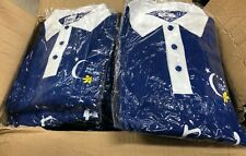50x Bulk Polo Relay for Life Cancer Council Clothing XL New Sealed Blue Unisex