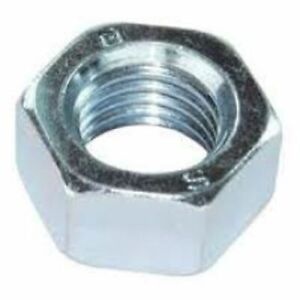 7/16 BSW  Stainless Steel Full Nuts   4 pack