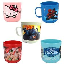 Childrens Plastic Cartoon Character Mugs Kids Party Cups