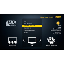 Express IPTV very good  EPG  ! 1 Month Sub for Mag, Android, friestick ,2000ch+