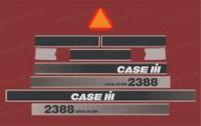 Case IH 2388 Harvester Decal / Adhesive / Sticker Complete Set