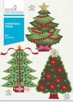 Christmas Trees Anita Goodesign Embroidery Machine Design CD