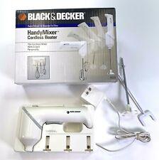 Black & Decker Handy Mixer Cordless Beater Blender 9220 - Please Read